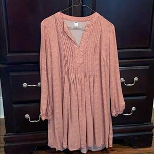 Old Navy pleated dress. Size medium. Great shape!